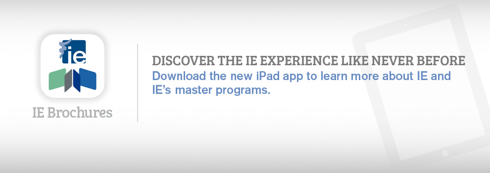 IE Brochures iPad app