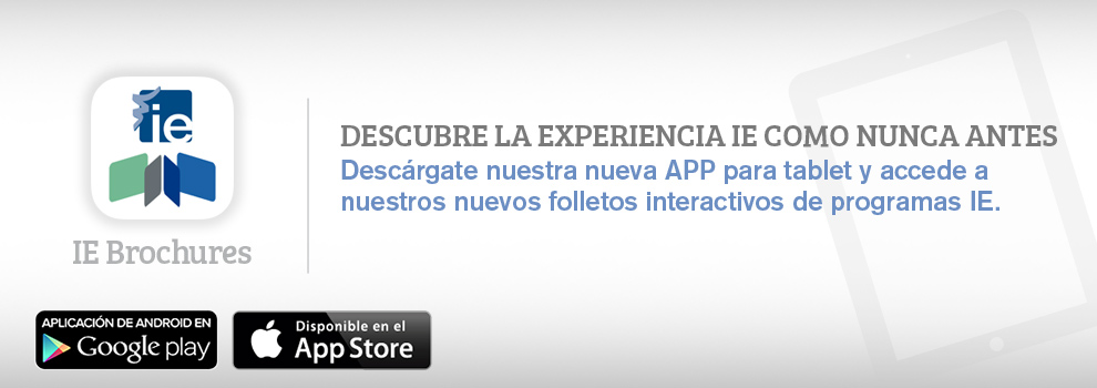 IE Brochures iPad y Android app
