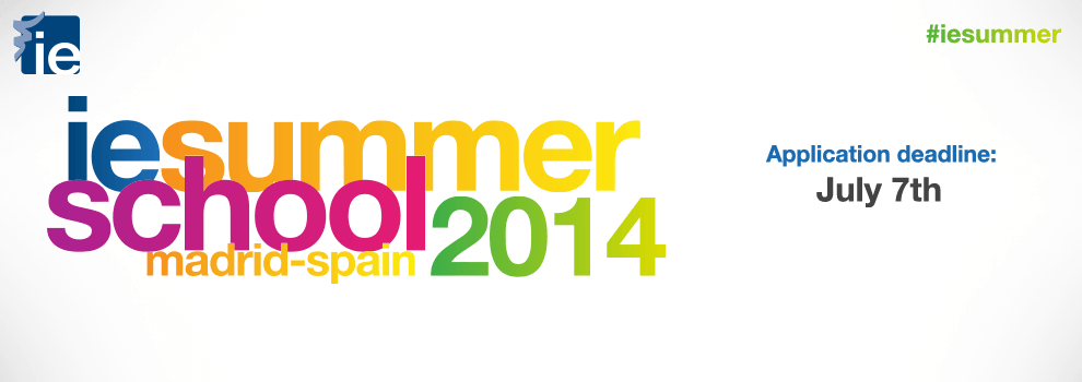 IE Summer School 2014