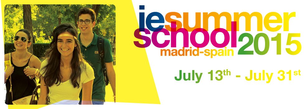 IE Summer School 2015