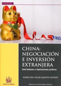 foto portada libro CHINA: Negociación e Inversión extranjera