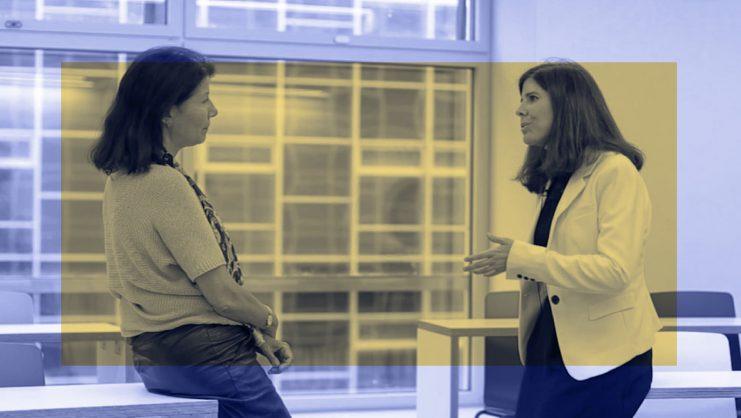 Celia de Anca y Marta Fernandez