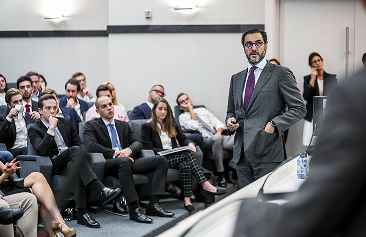 Company collaboration: the key to success for Master in Finance students